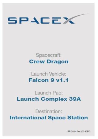 Trading Card NASA en ligne - Commercial Crew Program Dragon11