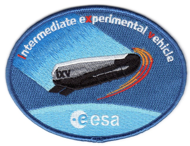 Patch du programme du Intermediate eXperimental Vehicle - IXV Esa_pa10