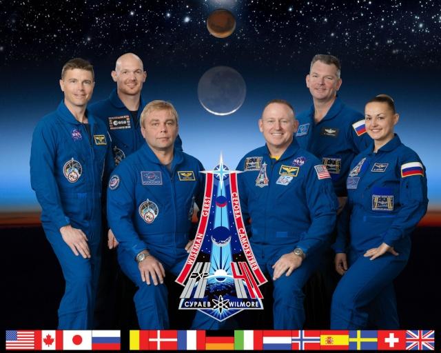 Vol spatial d'Alexander Gerst / Expedition 40 et 41 - BLUE DOT / Soyouz TMA-13M Exp_4110