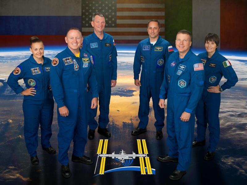 Vol spatial de Samantha Cristoforetti / Expedition 42 et 43 - FUTURA / Soyouz TMA-15M Expedi11