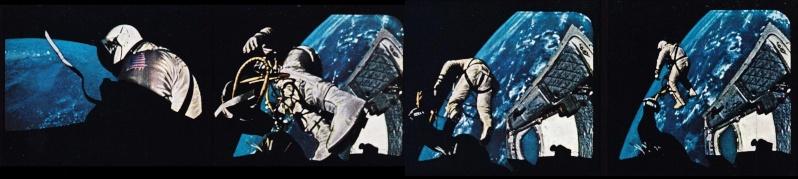 Gemini 4 - La mission - Rares Documents, Photos, et autres / 50 ans Première EVA américaine  Gemini10