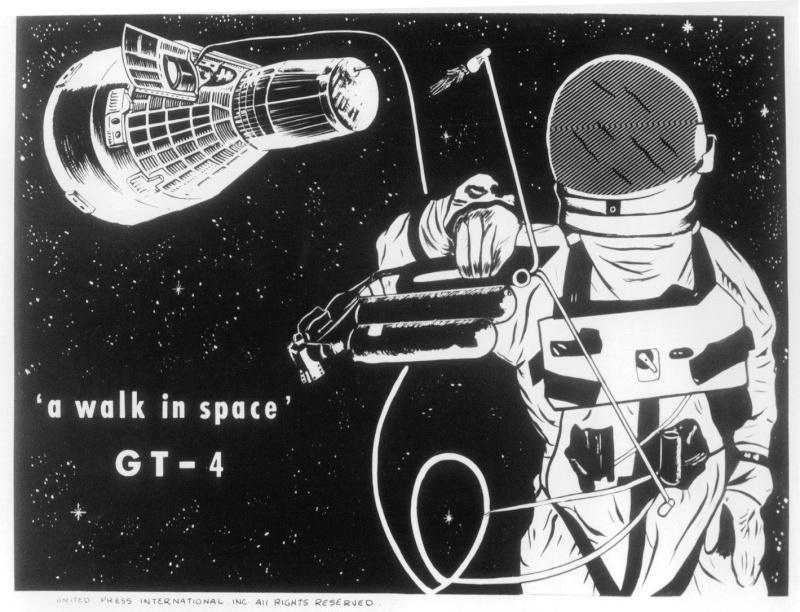 Gemini 4 - La mission - Rares Documents, Photos, et autres / 50 ans Première EVA américaine  Gemini21