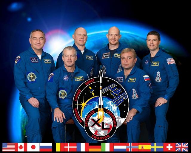 Vol spatial d'Alexander Gerst / Expedition 40 et 41 - BLUE DOT / Soyouz TMA-13M Iss-4010