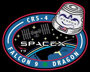 Lancement de la capsule ravitaillement Dragon CRS-4 / SpaceX Falcon 9 / 21 septembre 2014 Logo_c10