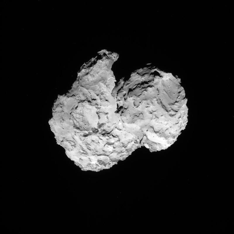 Rosetta - Réveil de la sonde / Mission / Atterrissage de Philae Navcam10
