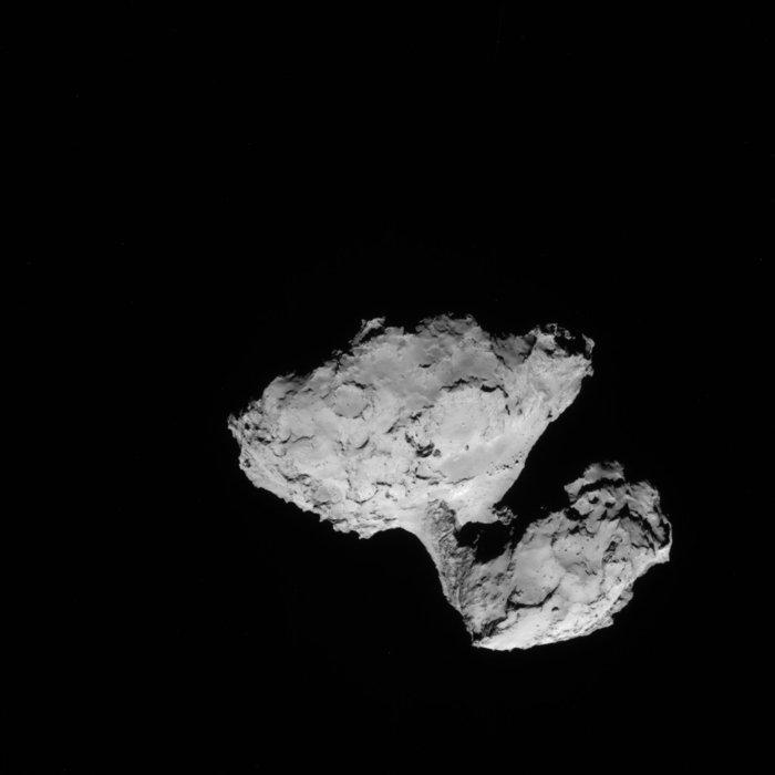 Rosetta - Réveil de la sonde / Mission / Atterrissage de Philae Navcam12