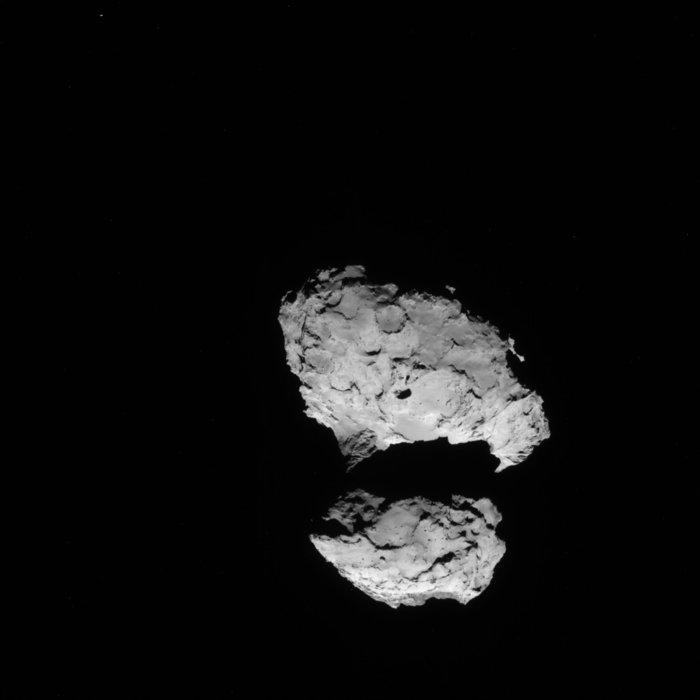 Rosetta - Réveil de la sonde / Mission / Atterrissage de Philae Navcam13