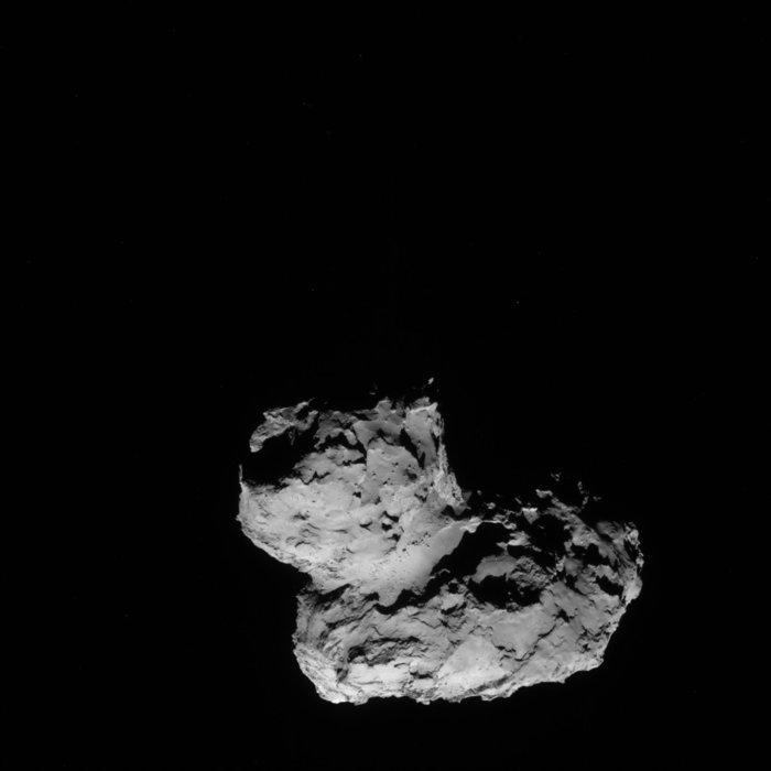 Rosetta - Réveil de la sonde / Mission / Atterrissage de Philae Navcam14