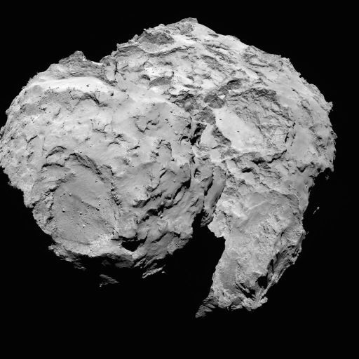 Rosetta - Réveil de la sonde / Mission / Atterrissage de Philae Navcam15