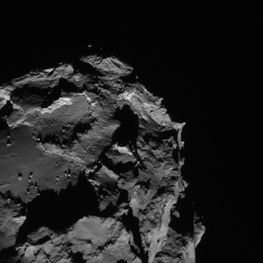 Rosetta - Réveil de la sonde / Mission / Atterrissage de Philae Navcam16