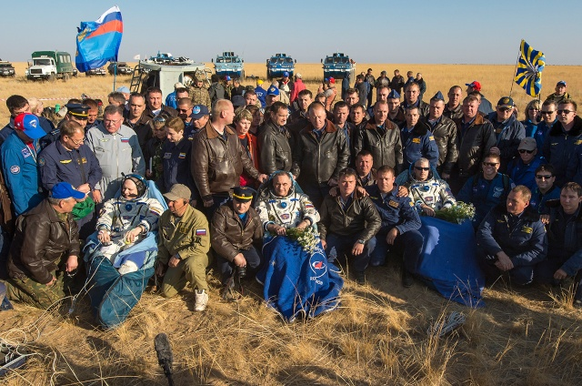 Soyouz TMA-12M / Expedition 39 - 40 / Mission News-011