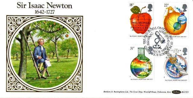 Quand le pommier de Newton vole dans l'espace (ou presque) Newton10