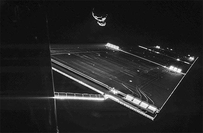 Rosetta - Réveil de la sonde / Mission / Atterrissage de Philae Philae11