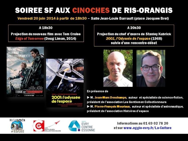 20 juin 2014 / Ciné-débat à Ris-Orangis / Edge of Tomorow et 2001 Odyssée de l'espace Ris_110
