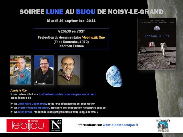 16 septembre 2014 / Ciné-débat autour du film Moonwalk One à Noisy-le-Grand (93) Secure10