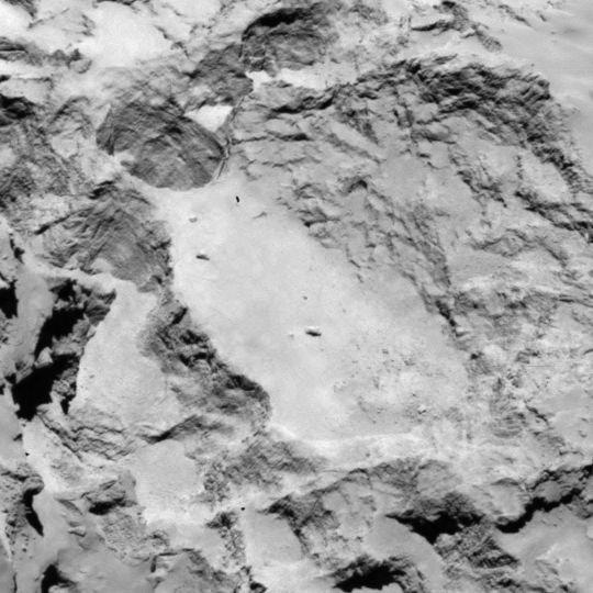 Rosetta - Réveil de la sonde / Mission / Atterrissage de Philae Site_a10