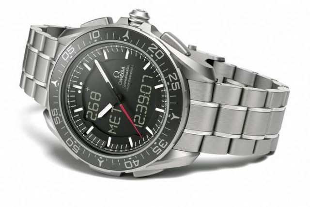 La nouvelle montre spatiale d'Omega : la X-33 Skywalker Speedm10