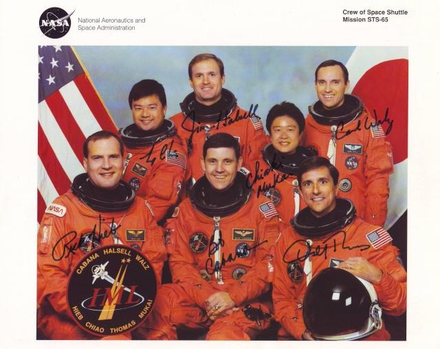 20ème anniversaire de la mission STS-65 Sts-6510