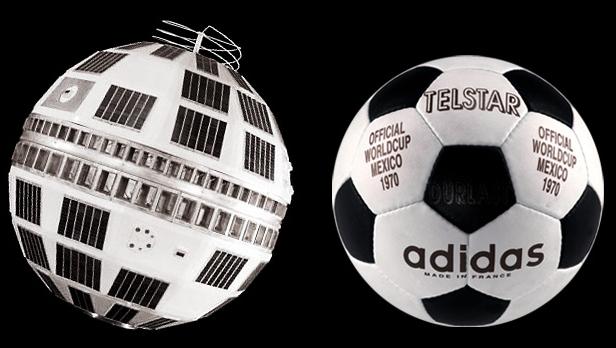 Coupe du Monde de Football et spatial - Le ballon Telstar Telsta10