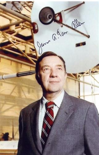 Centième anniversaire de la naissance de James A. Van Allen (1914-2006) Van_al10