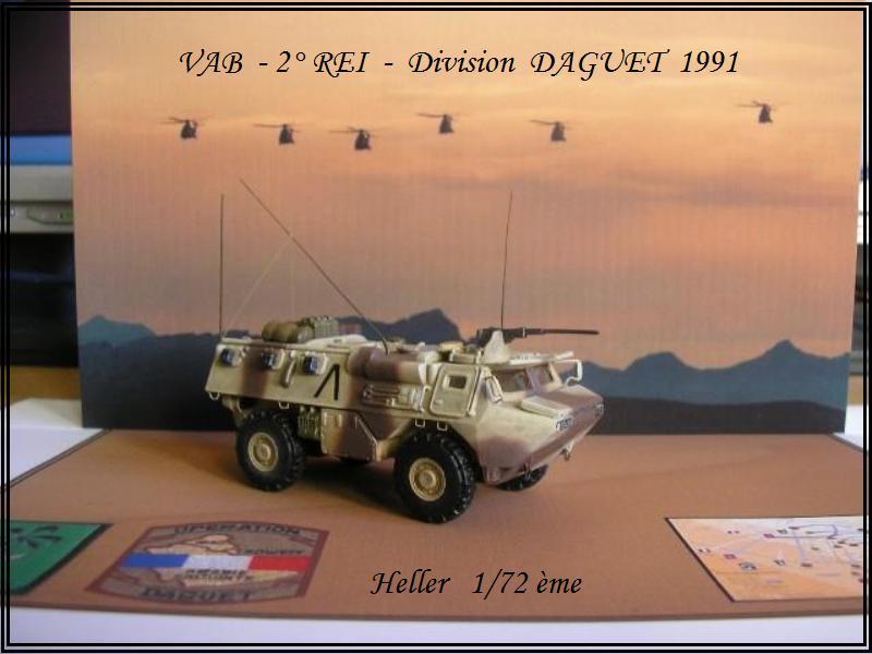 VAB Infanterie - 2° REI - Division Daguet  [Heller 1/72ème] Dio-va10