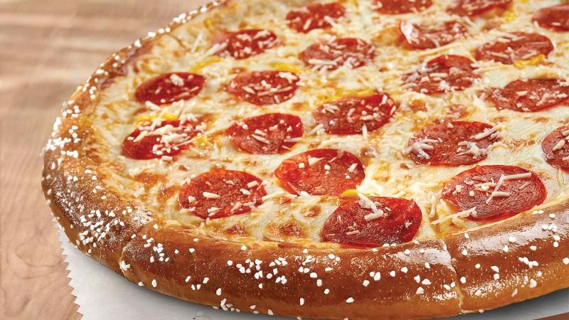 Croûte de pizza pretzel. 14087311