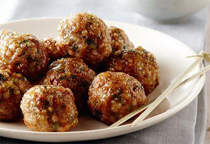 Boulettes de veau et quinoa  Boules10