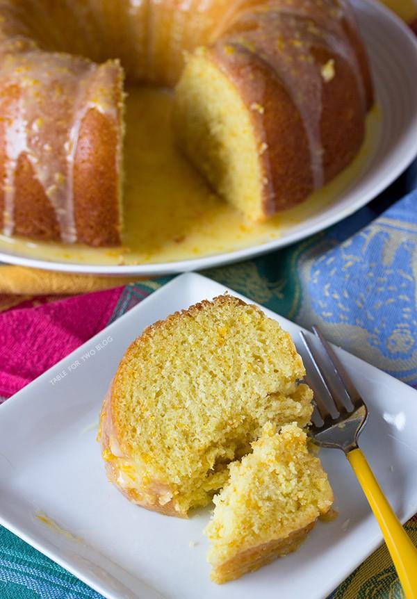 Gâteau Bundt à l'orange Orange16