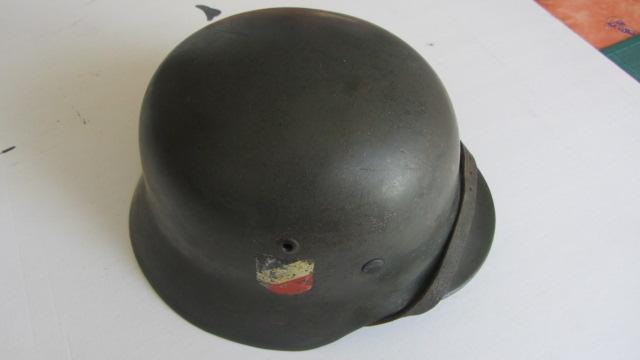 M35 DD Heer (complet) - décapé Casque10