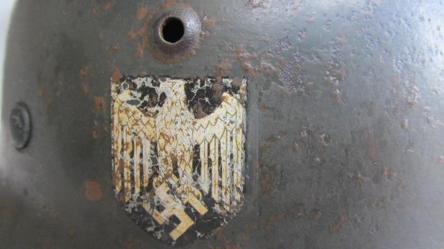 M35 DD Heer (complet) - décapé Casque15