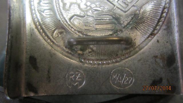 Boucle HJ + ceinture & baudrier - RZM M4-27 (précoce) Img_2147