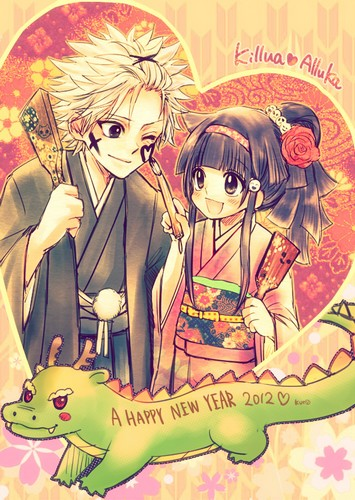 [Hunter X Hunter] Killua x Alluka Happy_10