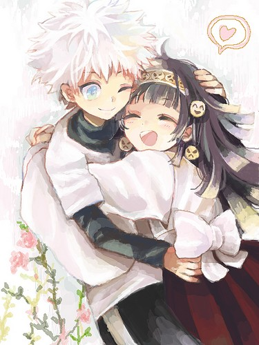 [Hunter X Hunter] Killua x Alluka Tumblr14