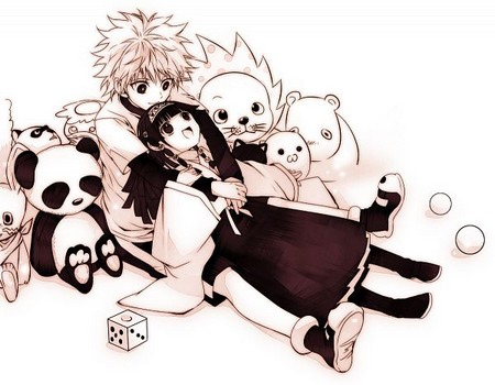[Hunter X Hunter] Killua x Alluka Zoldyc10