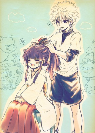 [Hunter X Hunter] Killua x Alluka Zoldyc14