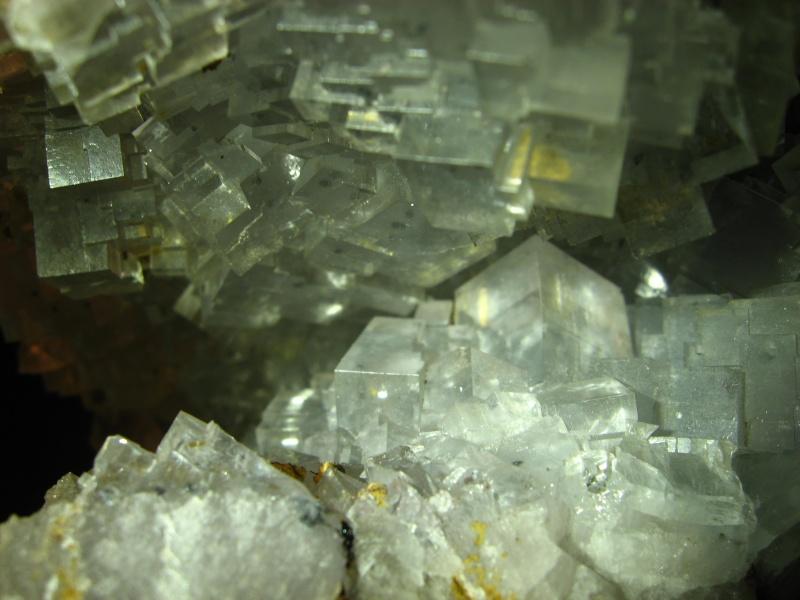 Différentes fluorites de la mine CLARA 00420
