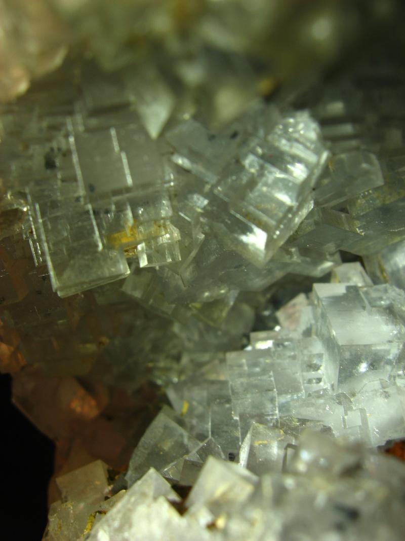 Différentes fluorites de la mine CLARA 00520