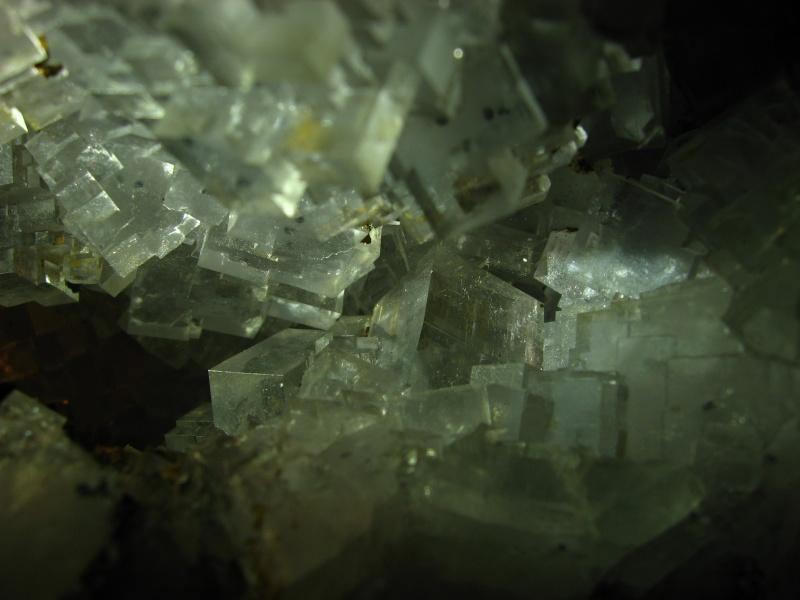 Différentes fluorites de la mine CLARA 00619