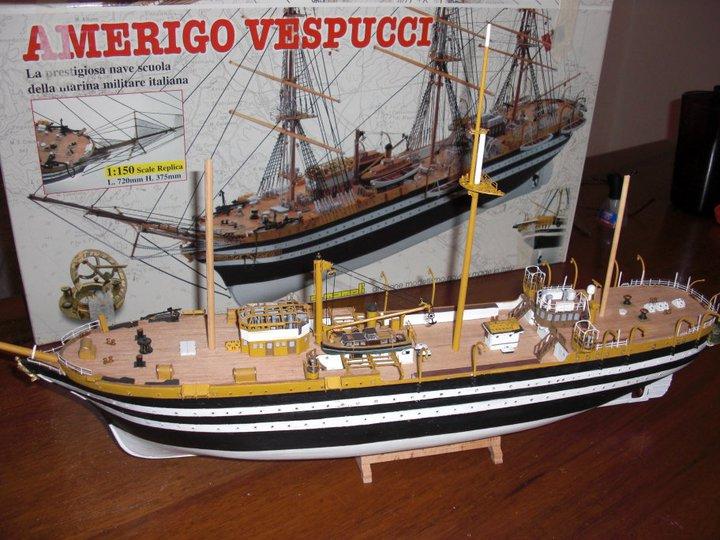 Amerigo Vespucci kit Mamoli 1/150 16861710