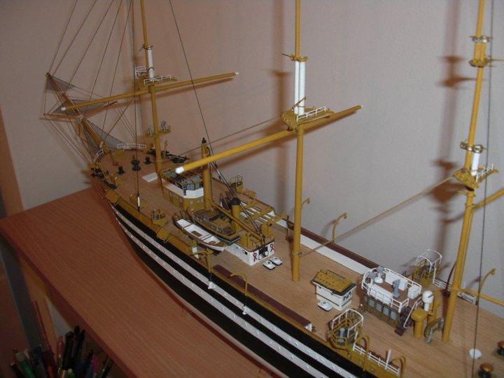 amerigo - Amerigo Vespucci kit Mamoli 1/150 18191010
