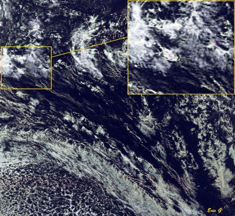 RECEPTION SATELLITES METEOSAT ET NOAA  Bassin10
