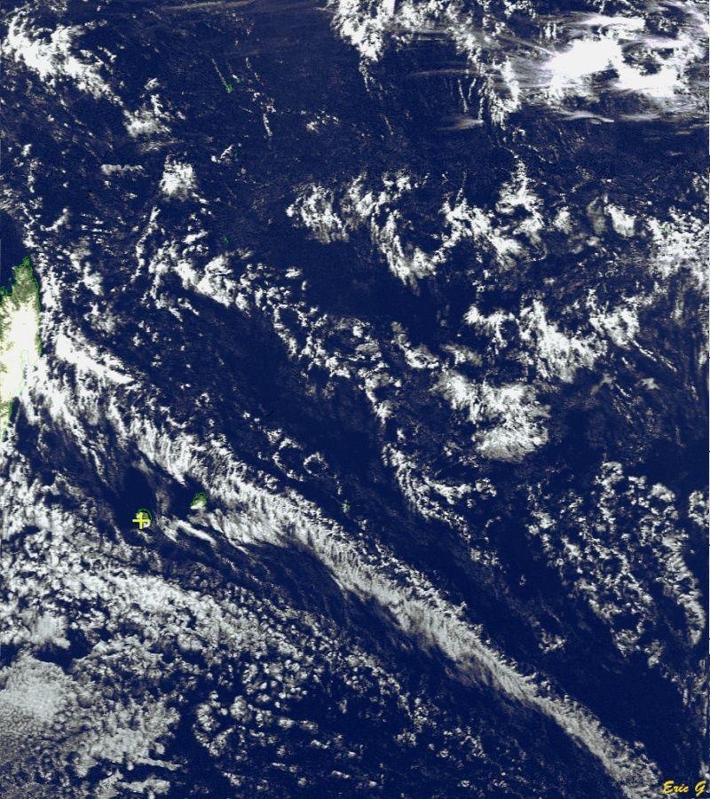 RECEPTION SATELLITES METEOSAT ET NOAA  Noaa1911