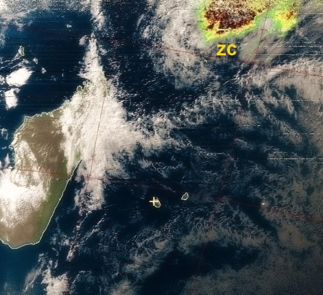 RECEPTION SATELLITES METEOSAT ET NOAA  Noaa_110