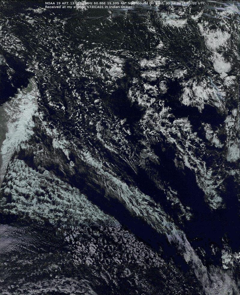 RECEPTION SATELLITES METEOSAT ET NOAA  Noaa_114