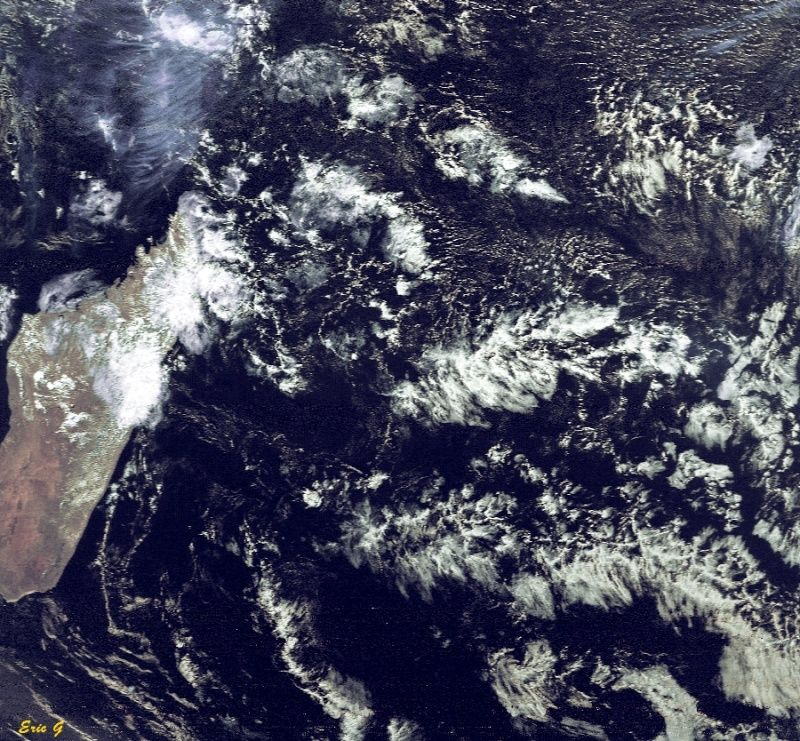 RECEPTION SATELLITES METEOSAT ET NOAA  Run_no10