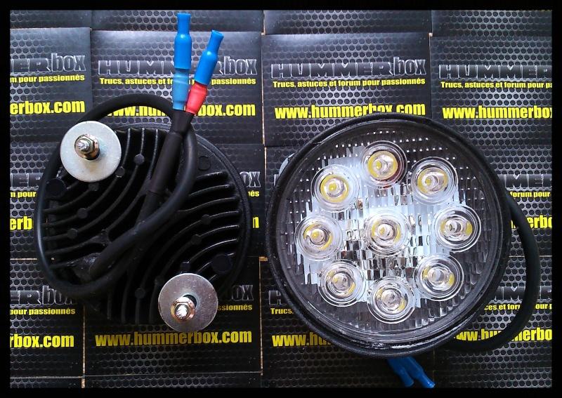 Paire de feux de jour LED Hummer H2 disponible Dsc_0110