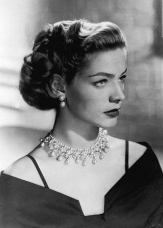 Bogart's grosse Liebe ist tot : Lauren Bacall Lauren10