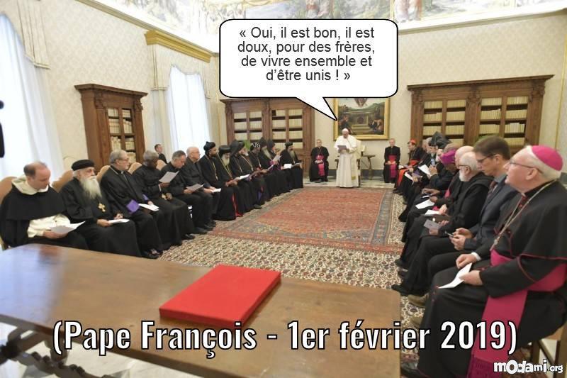 Dialogue avec les Eglises orthodoxes orientales : la graine de la communion a germé 884cc10