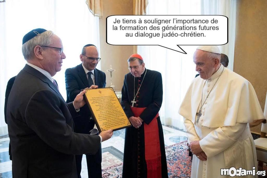 Dialogue judéo-chrétien: l'antisémitisme, une « contradiction », pour un chrétien 8a56210
