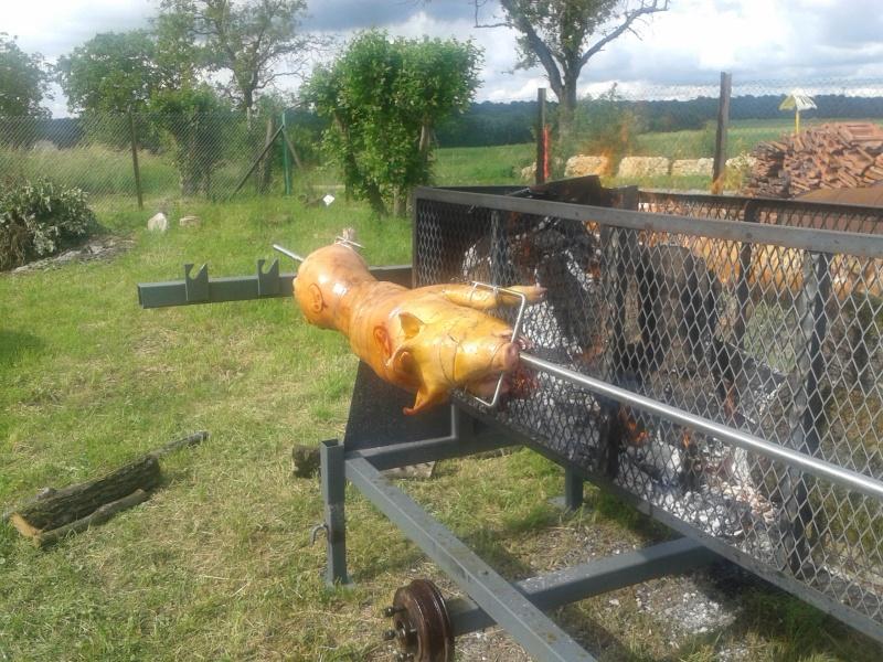 Jambon à la braise (clin d'œil à mon pote Loki pour son pulled pork...) 20130612